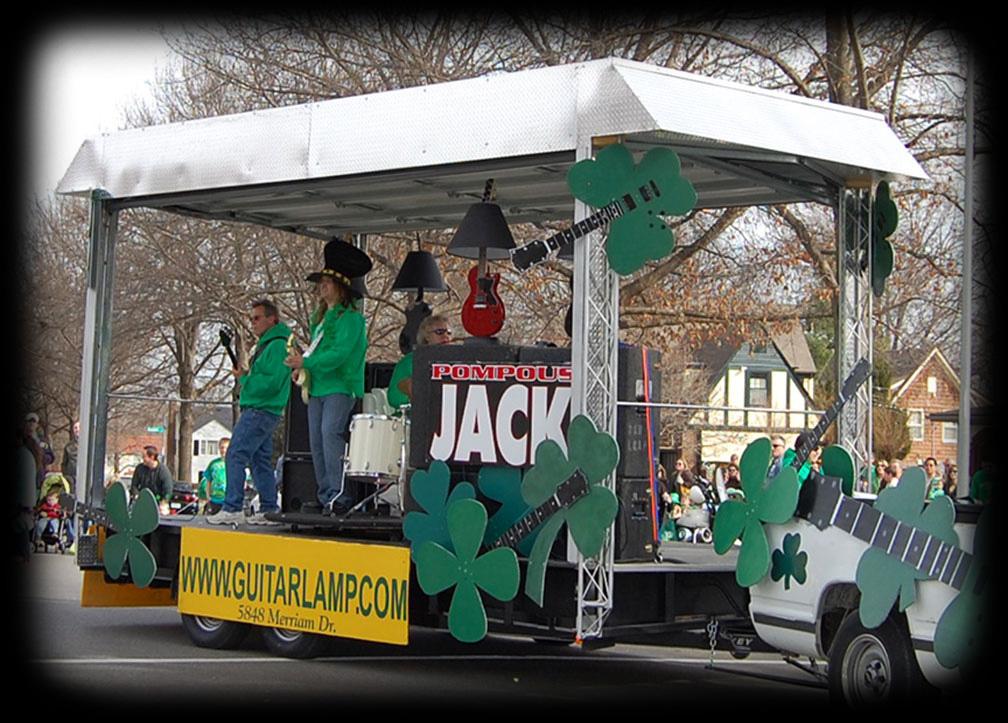 Pompous Jack St Patrick's Parade